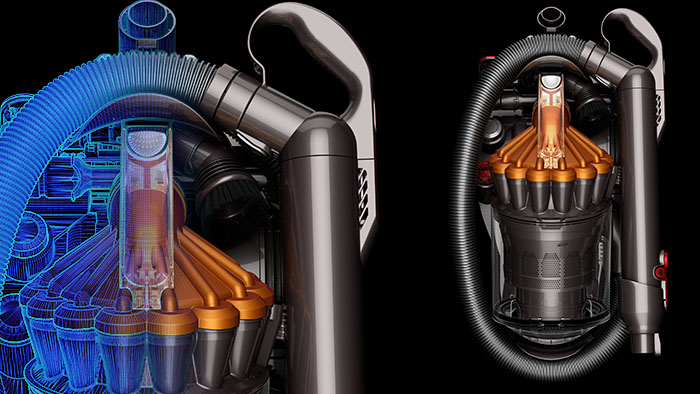 Photo realistic rendering for Dyson